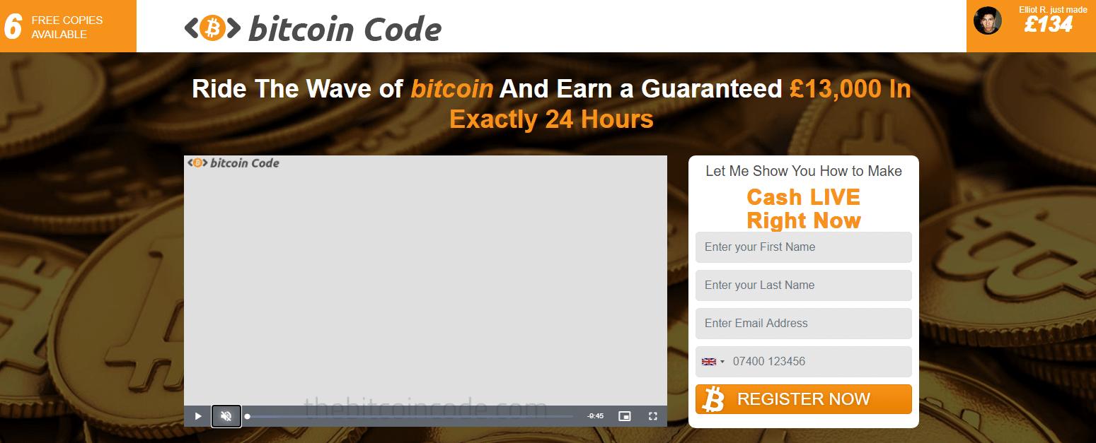 Bitcoin Code Reviews - Register Now