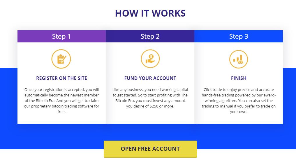 Bitcoin Era Reviews - How to Open an Account?