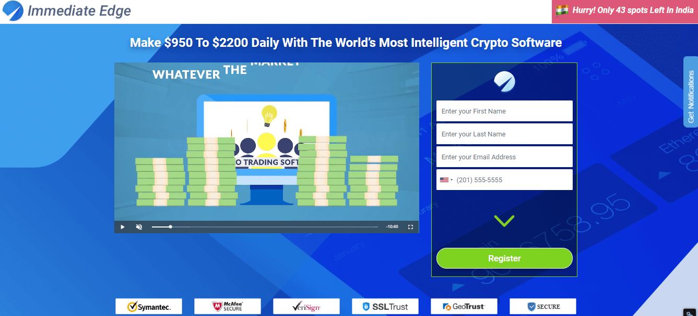 Immediate Edge Reviews - Online Trading Robot